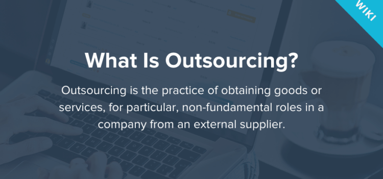 What is IT outsourcing?